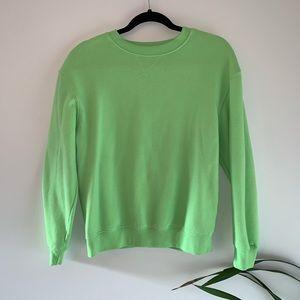 Lime Green Crewneck